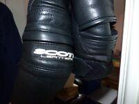 Scott Venom Leather Jacket – size 38 UK – Worn Twice.