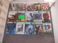 XBOX 360 WII DS PS3 GAMES £1 EACH