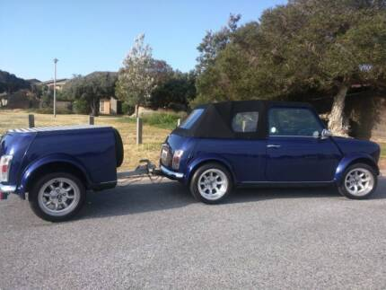1986 Rover Mini Convertible WITH Trailer