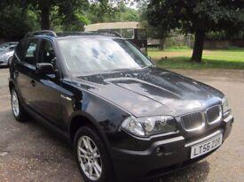 2006 BMW X3 20d 6 SPEED DIESEL 4X4 NEW CLUTCH,FLYWELL/MOT 12 MONTH