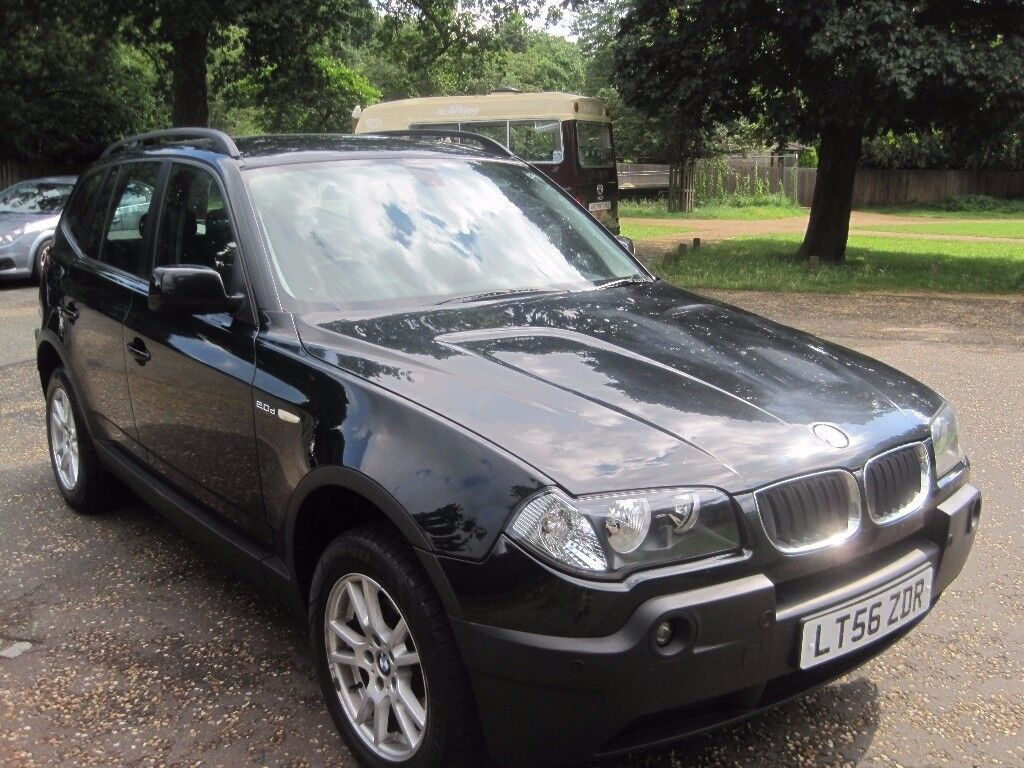 2006 bmw x3 20d 6 speed diesel 4x4 new clutch in. Black Bedroom Furniture Sets. Home Design Ideas