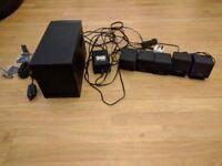 Cambridge Soundworks 5.1 desktop home theatre speaker system