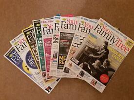 Your Family Tree Magazine no. 1 to no. 159 ( excepy 147 )