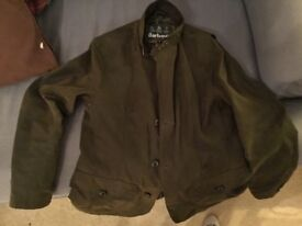 Barbour Lutz Wax Shooting Jacket Small