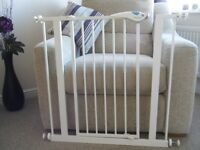 Two (2 ) Lindam LD67 Plus Easy Fit Child Safety Gates in good condition for sale
