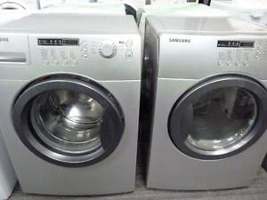 23- SAMSUNG  Laveuse Secheuse Frontale Frontload Washer Dryer