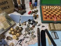 Wanted military escape, evasion, survival and clandestine items