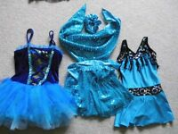 Dance Costumes/Tutu's - Only Used 2/3 in Dance Shows - Stunning Selection Available - All Ages - Ad2