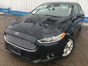 2014 Ford Fusion SE *LEATHER-HEATED SEATS* Kitchener / Waterloo Kitchener Area image 1