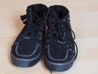 UGG Shoes for sale 7.5 - black, comfy, tassels