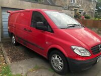 Mercedes Vito van inc generator, bar fridge and pie warmer £2,200