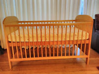 Mothercare Wooden Cot Bed - Hardly been used by grandchildren!