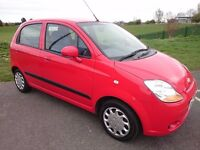 08 CHEVROLET MATIZ SE PLUS 995cc, VERY CHEAP TO TAX, RUN & INSURE - AN IDEAL 1st CAR + 12 MONTHS MOT