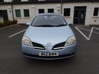 Nissan Primera SX 2.2 DCi, 6 speed, good condition, MOT June 2018, lovely to drive