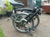 Brompton 3 Speed as new condition