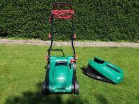 Qualcast 1600 watt rotary electric lawnmower -37cm