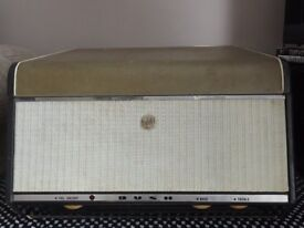 1960s Bush Record Player. In working condition but will need attention. Good for repair or spares.