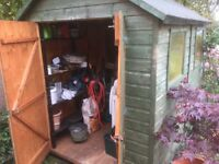 Garden Shed Hut 8'x6' Double doors