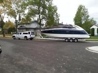 Cobalt 360 2001 Twin 8.1 Volvo, Trailer, Corsa Exhaust, Genset