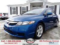 2011 Honda Civic SE ONLY $108.88 BI WEEKLY!!!