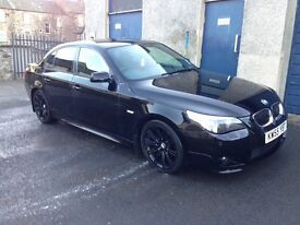 BMW 525d automatic black m sport