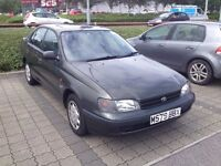 M Reg Toyota Carina, MOT January 2017. Any test or trial, cheap reliable car £250.