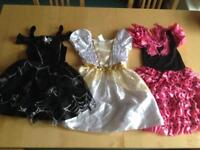 Halloween dressing up dresses age 3-4