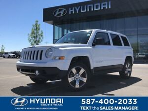 2016 Jeep Patriot 4x4 HIGH ALTITUDE - LEATHER, SUNROOF, HEATED S