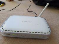 Netgear 54 Mbps Wireless ADSL 2 Modem router
