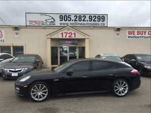 2011 Porsche Panamera 4 AWD, Black on Black, Navi, WE APPROVE AL