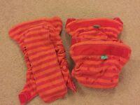 Bundle of Totsbots bamboozle size 2 washable nappies £40