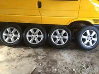 Vw transporter t5 alloy wheels
