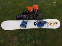 Snowboard K2 with gear