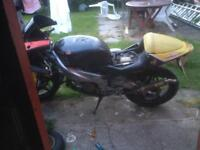 Aprilia rs 125 rotax 122 2000 model unfinished project 500 Ono