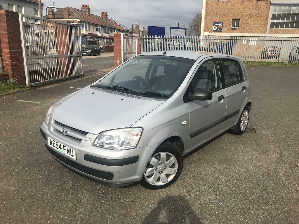 2004/54 HYUNDAI GETZ 1.1 GSI LOW MILEAGE FULL SERVICE HISTORY LONG MOT 5  DOORS
