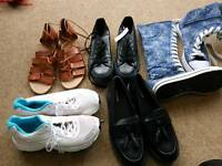 Size 4/5 women's shoe bundle