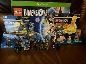Lego dimensions starter kit and bonus pack (Xbox One)