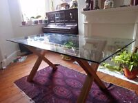 Stylish Glass table - excellent condition