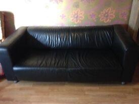 2 X IKEA Klippan Real Lether Sofas