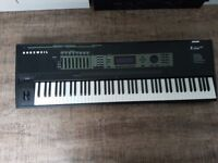 Kurzweil k2600x 88 note workstation. Fully working and in good condition.