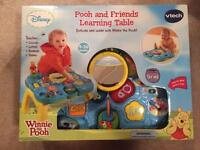 Pooh and friends learning table