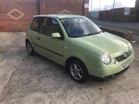 VW Lupo E 1.0L Rare Cedar Green