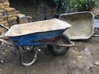 Builders Wheelbarrow x 2