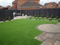 Artificial grass supply and fit.