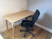 IKEA Desk and Office Chair: EXCELLENT condition