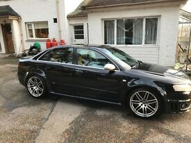 Audi b7 RS4, fully loaded, RS04 reg plate included.