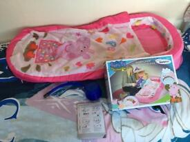 Peppa Pig My First Inflatable ReadyBed Excellent Condition COLLECT LEEDS