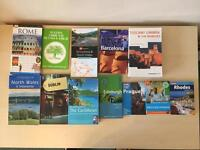 Collection of travel guides