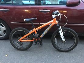 "Mongoose mountain bike, Aluminum frame 20"" wheel GOOD CONDITION"