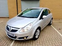 2007 Corsa 1.2 low milage !!!full mot-fresh tyres perfect car not audi golf gti bmw ford skoda